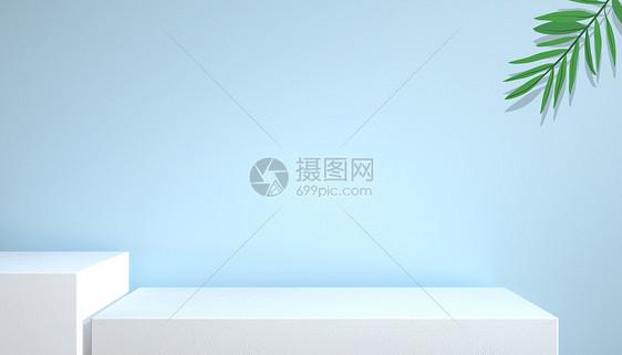 C4D小清新展台picture