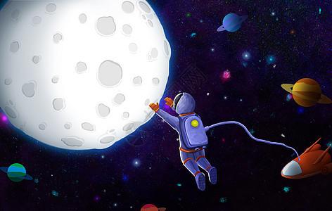 宇航员登月picture