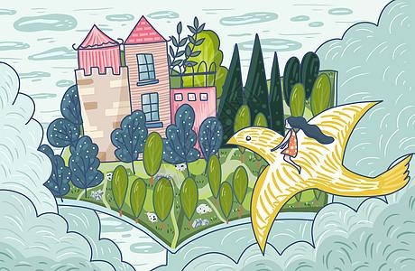 童年幻想系列之梦幻城堡图片