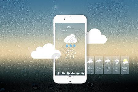 手机天气预报图片