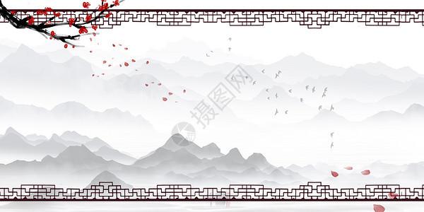 中国风边框背景图片