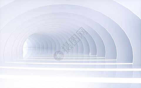 白色大气商务建筑空间图片