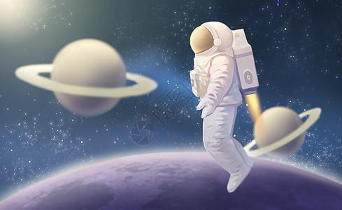 太空中的宇航员picture