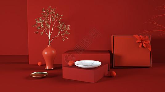 产品礼盒模型展示图片