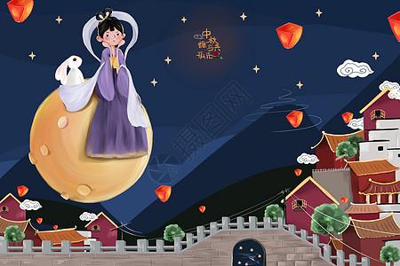 中秋月圆图片