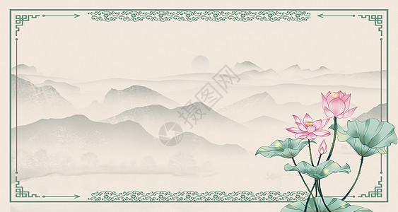 复古中国风背景图片