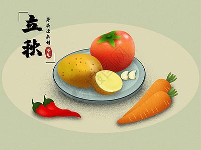 立秋果蔬图片