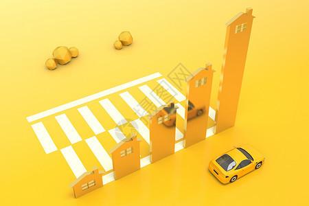 创意金融房车图片
