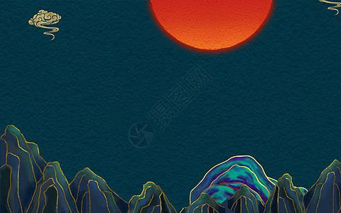 国潮中国风背景图片