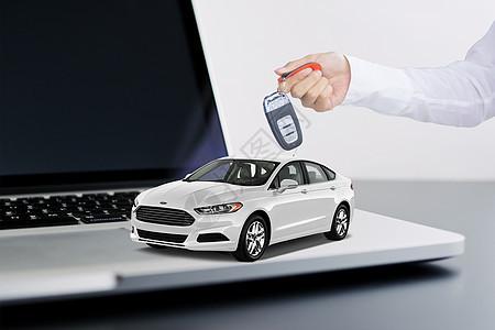 汽车交易图片