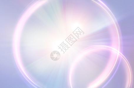 清新光圈背景图片