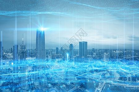 科技信息城市图片