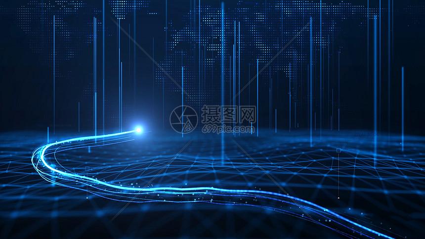 大数据科技背景图片