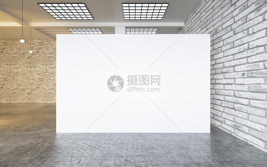 室内展示空间背景图片