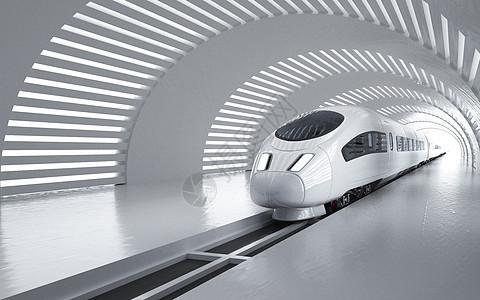 高铁隧道场景图片