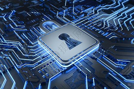 网络安全芯片图片
