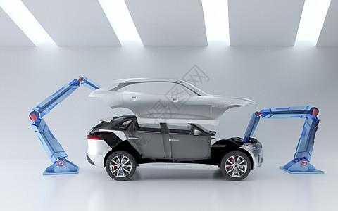 机械自动化生产图片