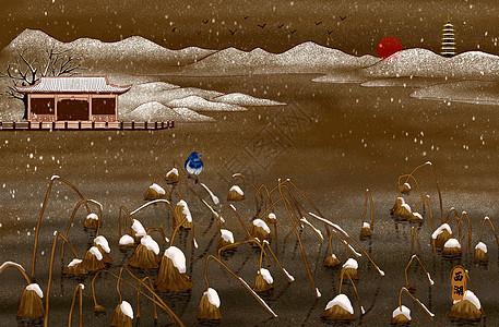 烫金城市美丽中国西湖图片