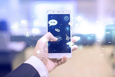 手机信息科技图片