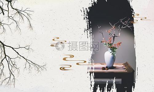 中国风意境背景图片
