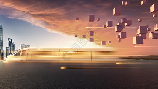 科技高速列车图片