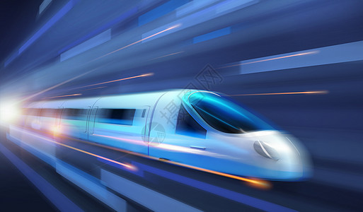 高速列车复兴号图片