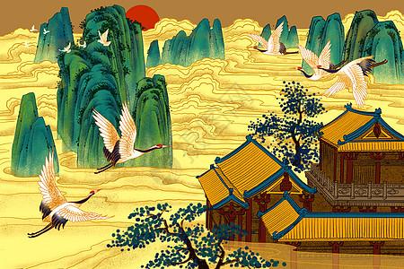仙山楼阁图片