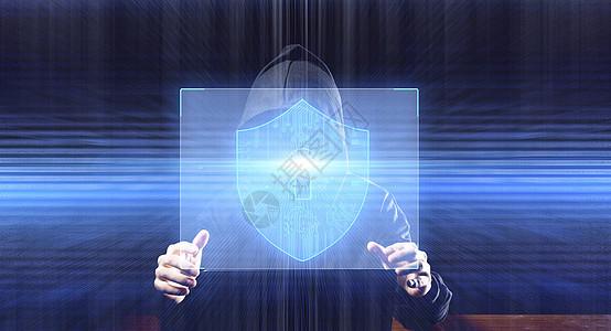 黑客安全防护图片