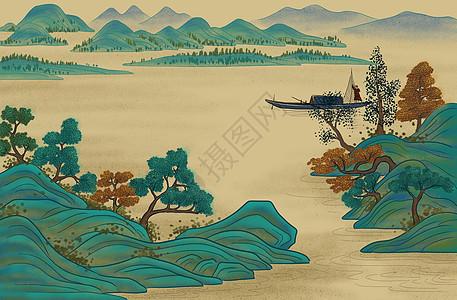 中国画古典山水图片