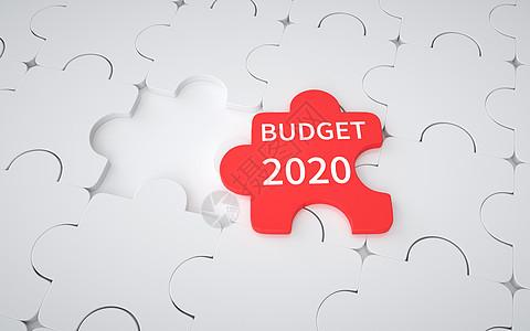 金融预算2020图片