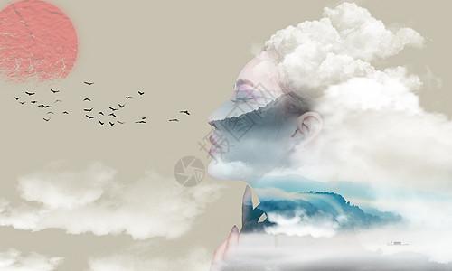 中国风创意背景图片