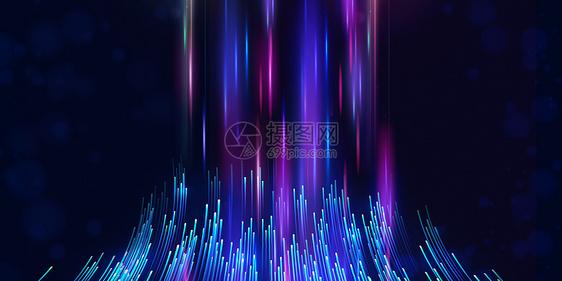 色彩科技线条背景图片
