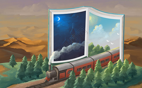 书世界的绿洲图片