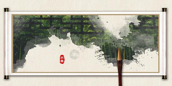 中国风复古背景图片