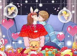 情人节-浪漫情人节-214情人节-恋人-情侣-2月14日-214图片