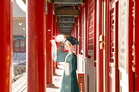 北京故宫系列之沐光图片