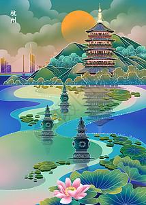 魅力城市之杭州图片