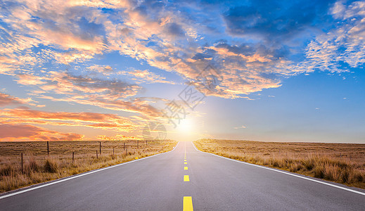 户外公路背景图片