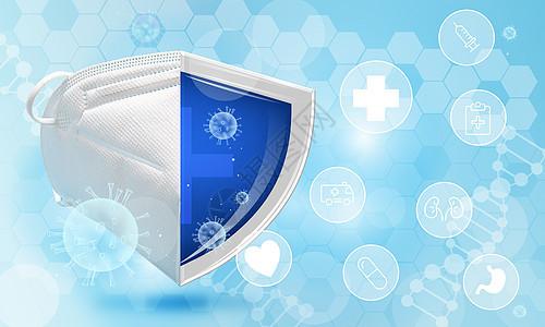 预防流感病毒图片
