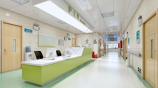 医院护士站场景图片