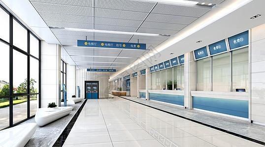 3D医院大厅图片