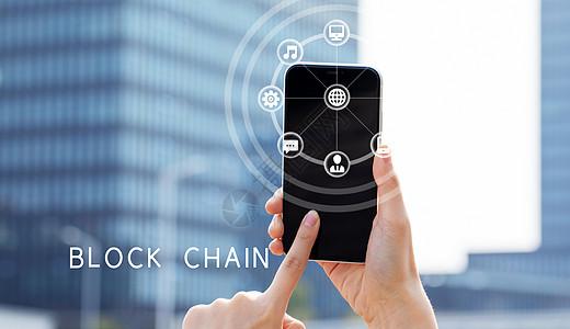 区块链科技图片