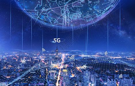 5G网络城市图片