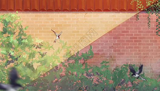 立夏的花园图片