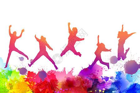 青年节背景图片