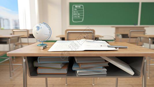 学校上课教室场景图片