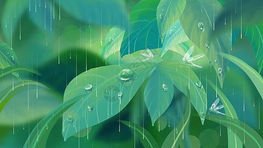 谷雨通用背景图片