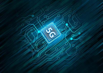 5G芯片科技图片