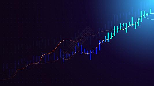 金融线条图片