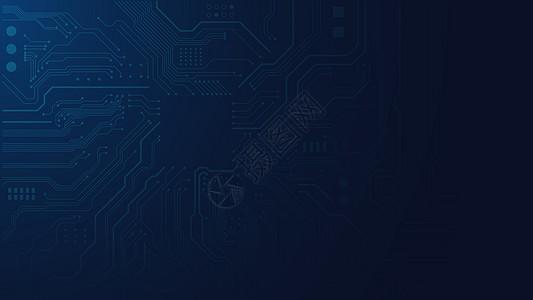 芯片电路图图片
